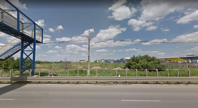 Bragadiru teren cu deschidere la Soseaua Alexandriei