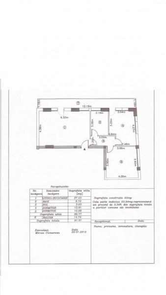 Vanzare 3 camere Central