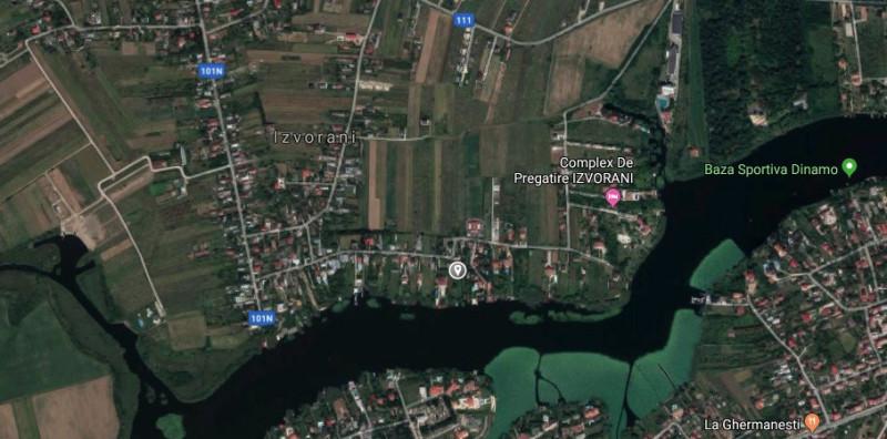 Terenuri in intravilanul comunei Izvorani