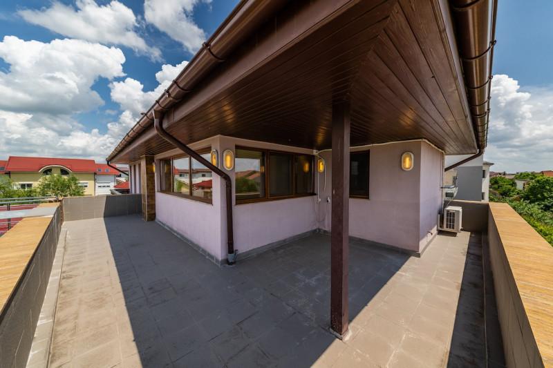 Vila individuala cu o arhitectura deosebita in Pipera