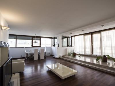 Herastrau inchiriere penthouse cu terasa de 140 mp