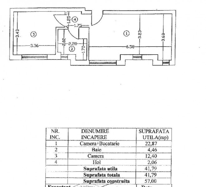 2 camere langa metrou Gara de Nord si Piata Victoriei