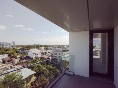 Herastrau apartament mobilat si utilat, loc parcare