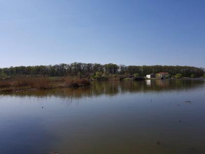 Snagov teren cu deschidere 26m la lacul Snagov
