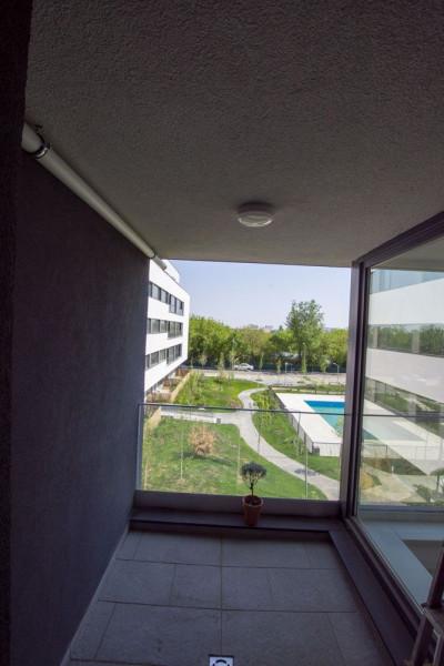 Apartament Bucurestii Noi Atria Urban Resort cu vedere spre piscina !