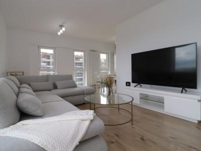 Apartamentul Puro – aproape de biroul tău și cu o terasă generoasă –
