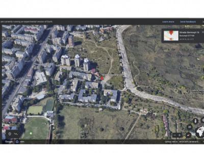 Teren pentru constructii cu priveliste spre Delta Vacaresti, str. Savinesti