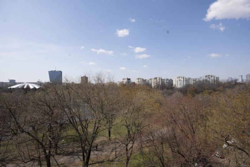 Parcul Circului inchiriere garsoniera cocheta cu vdere la parc
