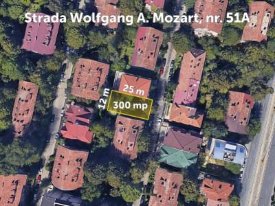 Teren 300mp, Floreasca/Mozart, S+P+2E+M/E3 retras – Urbanism Mai 2021