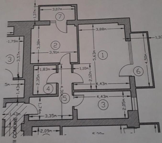 Domenii Park apartament de inchiriat mobilat